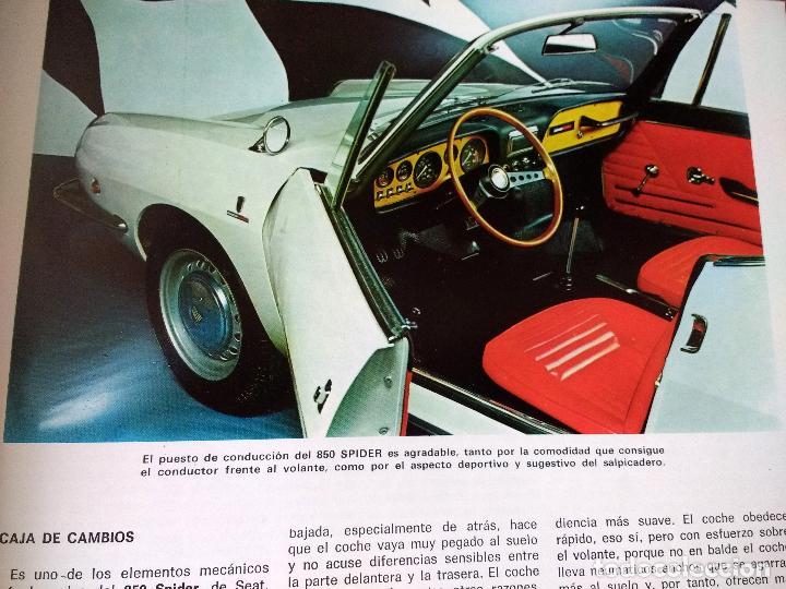Coches y Motocicletas: ENCICLOPEDIA DEL AUTOMÓVIL.RAFAEL ESCAMILLA.EDITORIAL LINOSA. AÑO 1969. OBRA COMPLETA 3 TOMOS - Foto 9 - 120432891
