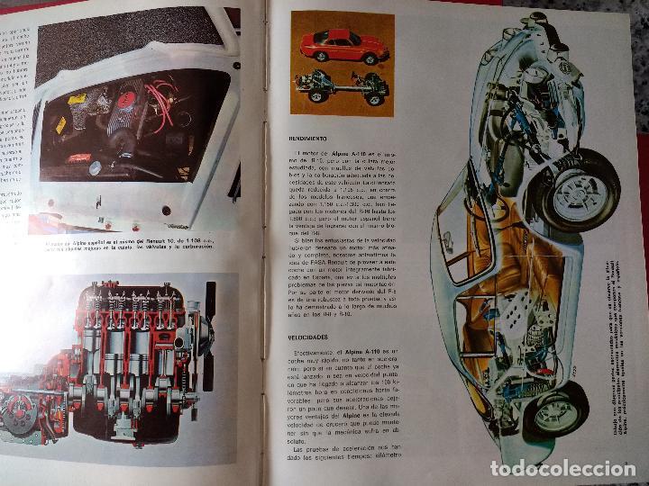 Coches y Motocicletas: ENCICLOPEDIA DEL AUTOMÓVIL.RAFAEL ESCAMILLA.EDITORIAL LINOSA. AÑO 1969. OBRA COMPLETA 3 TOMOS - Foto 12 - 120432891