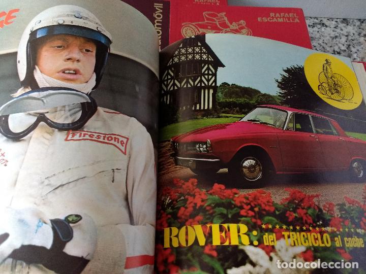 Coches y Motocicletas: ENCICLOPEDIA DEL AUTOMÓVIL.RAFAEL ESCAMILLA.EDITORIAL LINOSA. AÑO 1969. OBRA COMPLETA 3 TOMOS - Foto 15 - 120432891