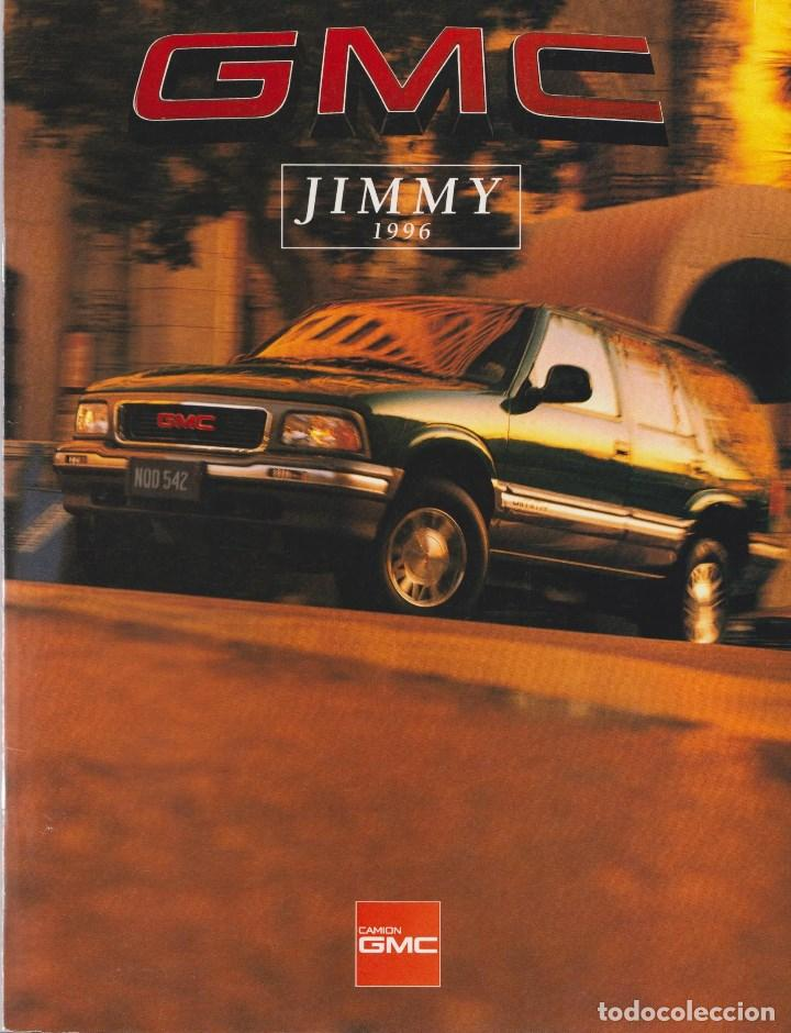 CATÁLOGO ORIGINAL GMC JIMMY 1996 (Coches y Motocicletas Antiguas y Clásicas - Catálogos, Publicidad y Libros de mecánica)