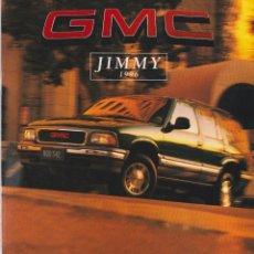 Coches y Motocicletas: CATÁLOGO ORIGINAL GMC JIMMY 1996. Lote 120566707