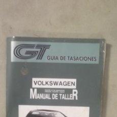 Coches y Motocicletas - MANUAL TALLER VOLKSWAGEN GOLF VENTO 92 OCTUBRE 1993 GUIA DE TASACIONES - 120709431