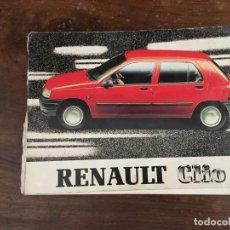 Coches y Motocicletas: MANUAL RENAULT CLIO. Lote 120822819
