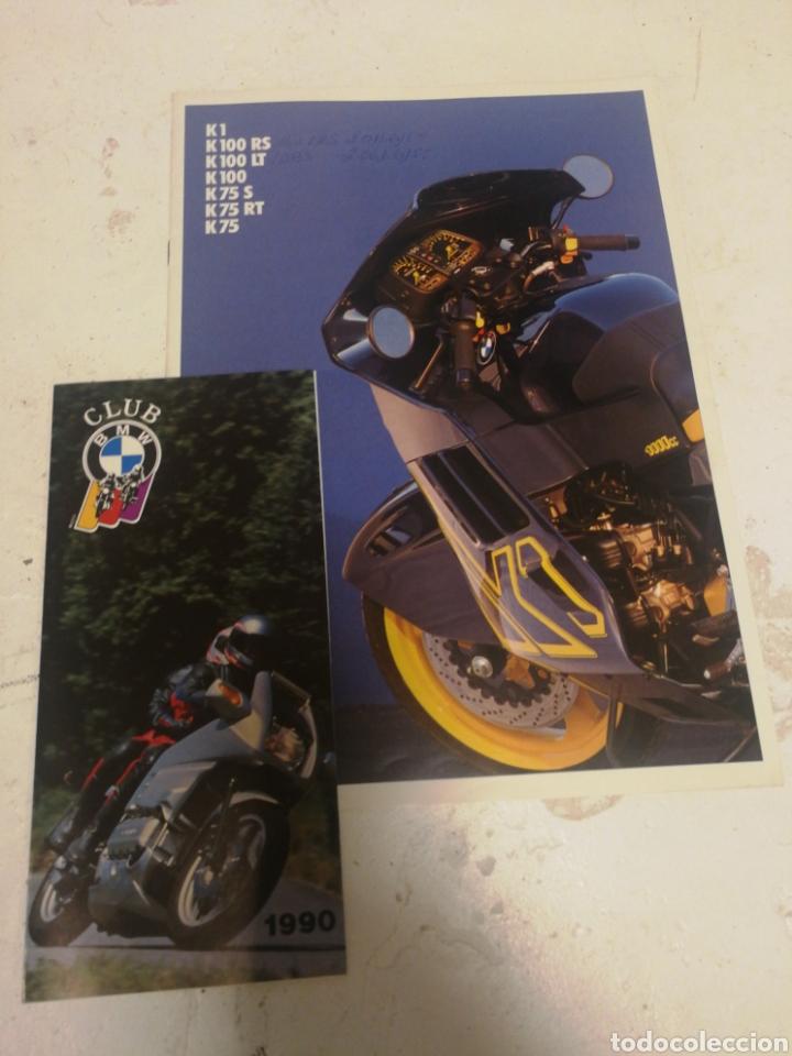 CATALOGO MOTOS BMW 1989 Y CLUB BMW 1990 (Coches y Motocicletas Antiguas y Clásicas - Catálogos, Publicidad y Libros de mecánica)