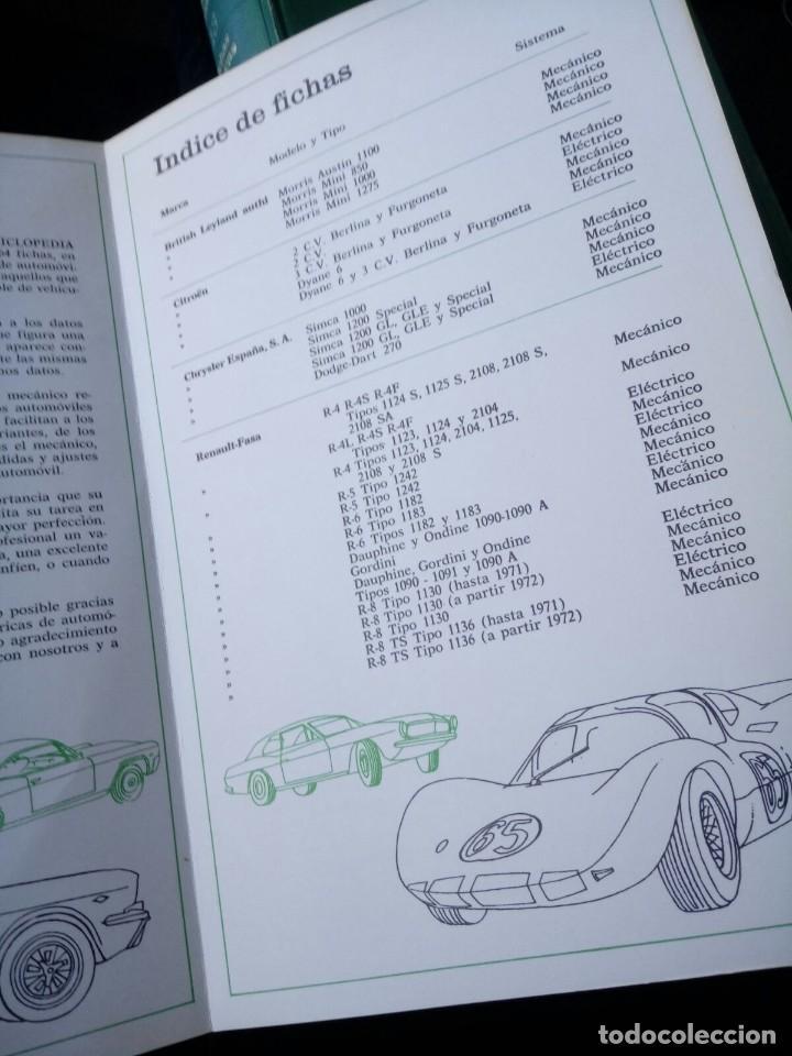 Coches y Motocicletas: FICHAS TECNICAS DEL AUTOMOVIL. ENCICLOPEDIA CEAC. TOMO 13 - Foto 2 - 120849935