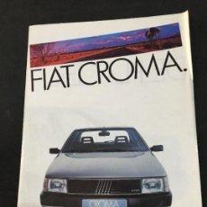 Coches y Motocicletas: FOLLETO CATALOGO PUBLICIDAD ORIGINAL FIAT CROMA . Lote 120997087
