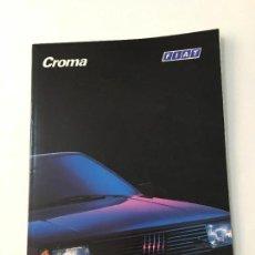 Coches y Motocicletas: FOLLETO CATALOGO PUBLICIDAD ORIGINAL FIAT CROMA. Lote 120997183
