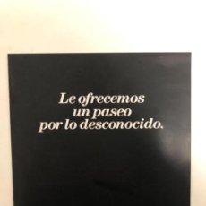 Coches y Motocicletas: CATÁLOGO PUBLICITARIO CONCESIONARIO. SAAB 900, SAAB 9000 Y SAAB CD. (1990). . Lote 121108787