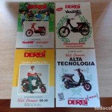 Coches y Motocicletas: DERBI (VARIOS: VARIANT START / VARIANT SLEX / DS-50 / WORLD CHAMPION) - CATÁLOGO S. Lote 184448366