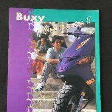 Coches y Motocicletas: FOLLETO CATALOGO PUBLICIDAD ORIGINAL PEUGEOT BUXY . Lote 121713931
