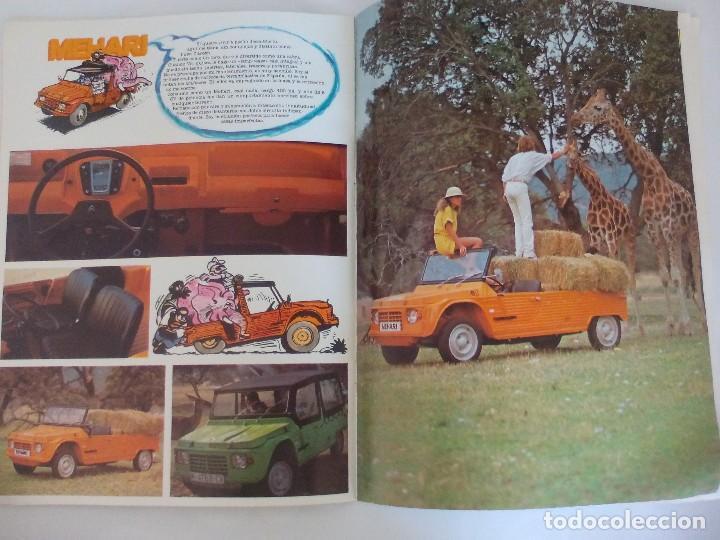 Coches y Motocicletas: Propaganda de Citroen 2 CV Dyane 6 y Mehari = - Foto 4 - 122179031