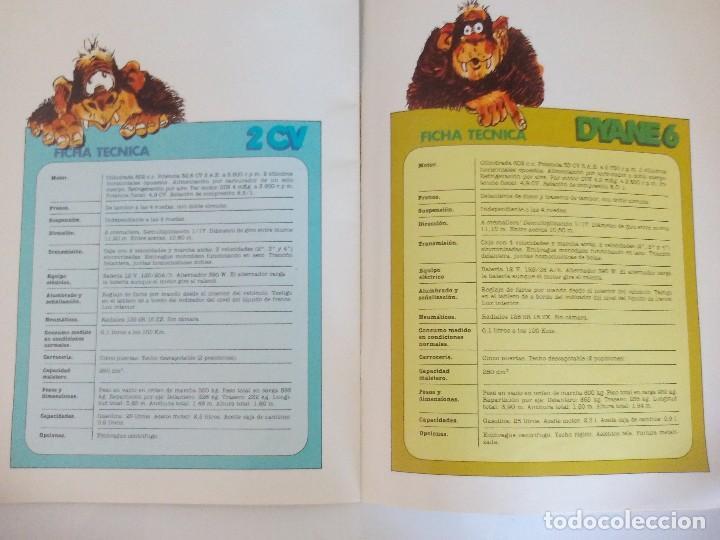 Coches y Motocicletas: Propaganda de Citroen 2 CV Dyane 6 y Mehari = - Foto 5 - 122179031