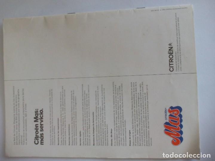Coches y Motocicletas: Propaganda de Citroen 2 CV Dyane 6 y Mehari = - Foto 6 - 122179031