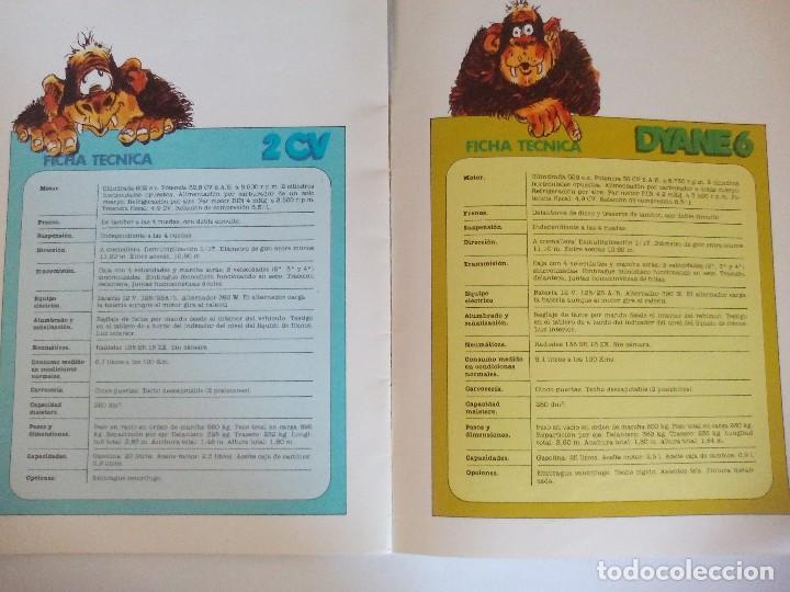 Coches y Motocicletas: Propaganda de Citroen 2 CV Dyane 6 y Mehari = - Foto 8 - 122179031