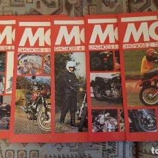 Coches y Motocicletas: LOTE DE 18 FASCICULOS DE LA COLECCION EN MOTO DE SARPE VINTAGE 1985. Lote 122191923