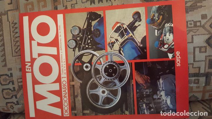 Coches y Motocicletas: LOTE DE 18 FASCICULOS DE LA COLECCION EN MOTO DE SARPE VINTAGE 1985 - Foto 3 - 122191923