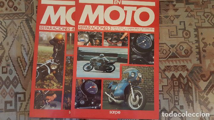 Coches y Motocicletas: LOTE DE 18 FASCICULOS DE LA COLECCION EN MOTO DE SARPE VINTAGE 1985 - Foto 4 - 122191923