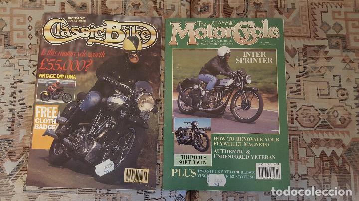 Coches y Motocicletas: LOTE DE 18 FASCICULOS DE LA COLECCION EN MOTO DE SARPE VINTAGE 1985 - Foto 6 - 122191923