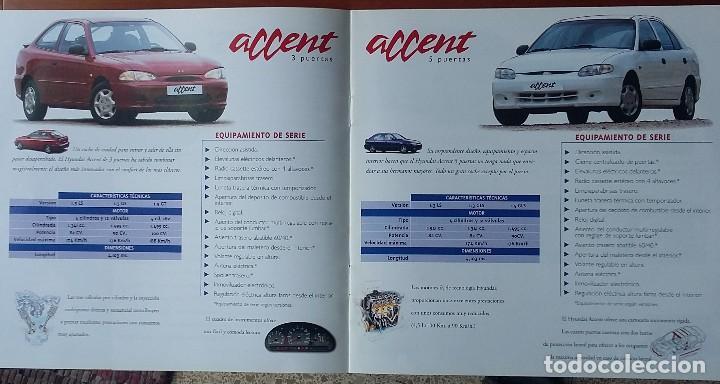 Coches y Motocicletas: Catálogo Hyundai Salón del automóvil 1999 - Foto 2 - 122436479