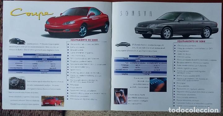 Coches y Motocicletas: Catálogo Hyundai Salón del automóvil 1999 - Foto 3 - 122436479