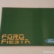 Coches y Motocicletas: FORD FIESTA - MANUAL DEL PROPIETARIO. Lote 122775095