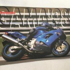 Coches y Motocicletas: FOLLETO CATALOGO PUBLICIDAD ORIGINAL KAWASAKI GAMA 1998. Lote 122855743