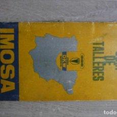 Coches y Motocicletas: IMOSA-GUIA DE TELLERES/MAPA RED NACIONAL DE CONCESIONARIOS. Lote 122855915