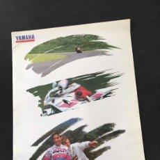 Coches y Motocicletas - Folleto catalogo publicidad original yamaha gama 1993 - 123057559