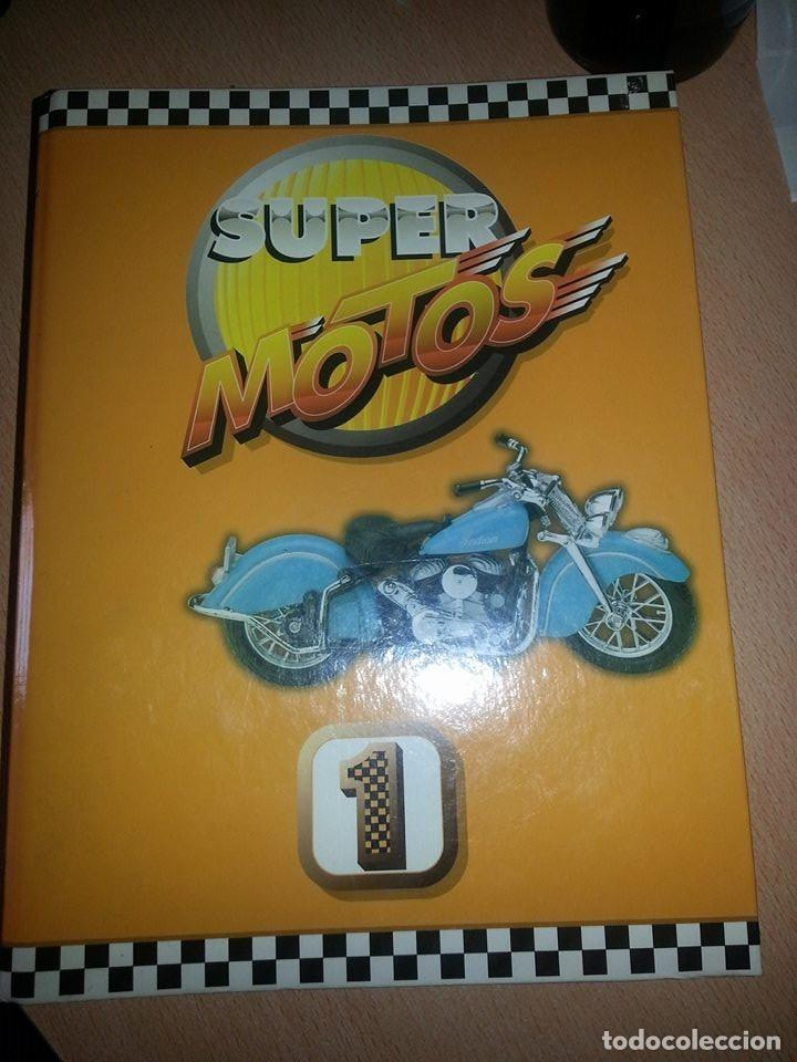 Coches y Motocicletas: SUPER MOTOS,.80 FICHAS DESPLEGABLES. ( VER DESCRIPCION) - Foto 1 - 123312435