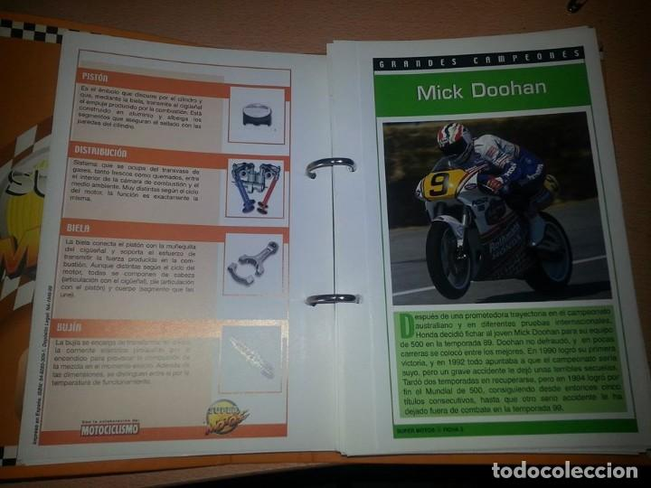 Coches y Motocicletas: SUPER MOTOS,.80 FICHAS DESPLEGABLES. ( VER DESCRIPCION) - Foto 3 - 123312435