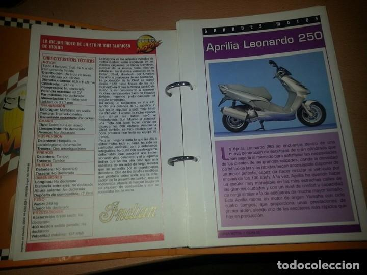 Coches y Motocicletas: SUPER MOTOS,.80 FICHAS DESPLEGABLES. ( VER DESCRIPCION) - Foto 4 - 123312435