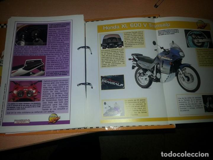 Coches y Motocicletas: SUPER MOTOS,.80 FICHAS DESPLEGABLES. ( VER DESCRIPCION) - Foto 5 - 123312435