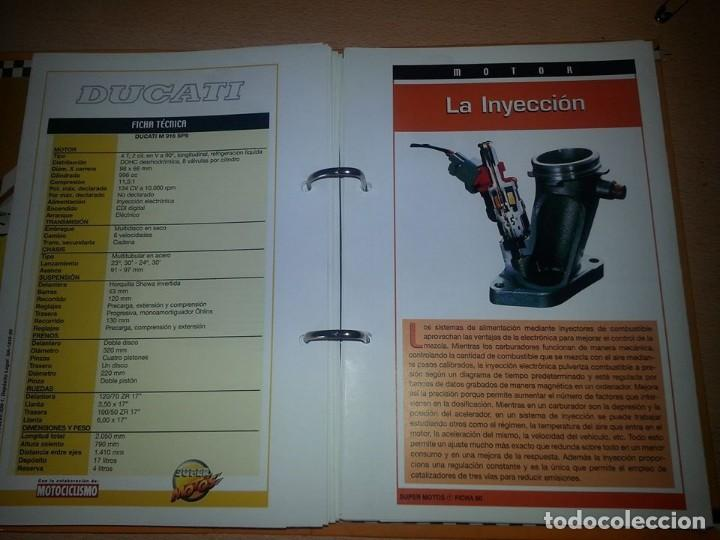 Coches y Motocicletas: SUPER MOTOS,.80 FICHAS DESPLEGABLES. ( VER DESCRIPCION) - Foto 7 - 123312435