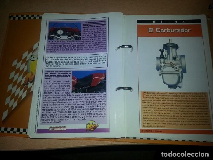 Coches y Motocicletas: SUPER MOTOS,.80 FICHAS DESPLEGABLES. ( VER DESCRIPCION) - Foto 12 - 123312435