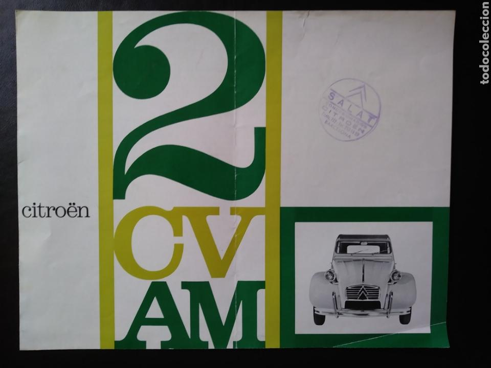 CATÁLOGO CITROËN 2 CV AM 1963 2CV (Coches y Motocicletas Antiguas y Clásicas - Catálogos, Publicidad y Libros de mecánica)
