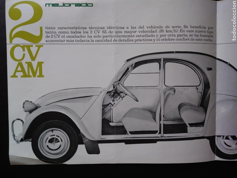 Coches y Motocicletas: Catálogo Citroën 2 CV AM 1963 2CV - Foto 2 - 124064771