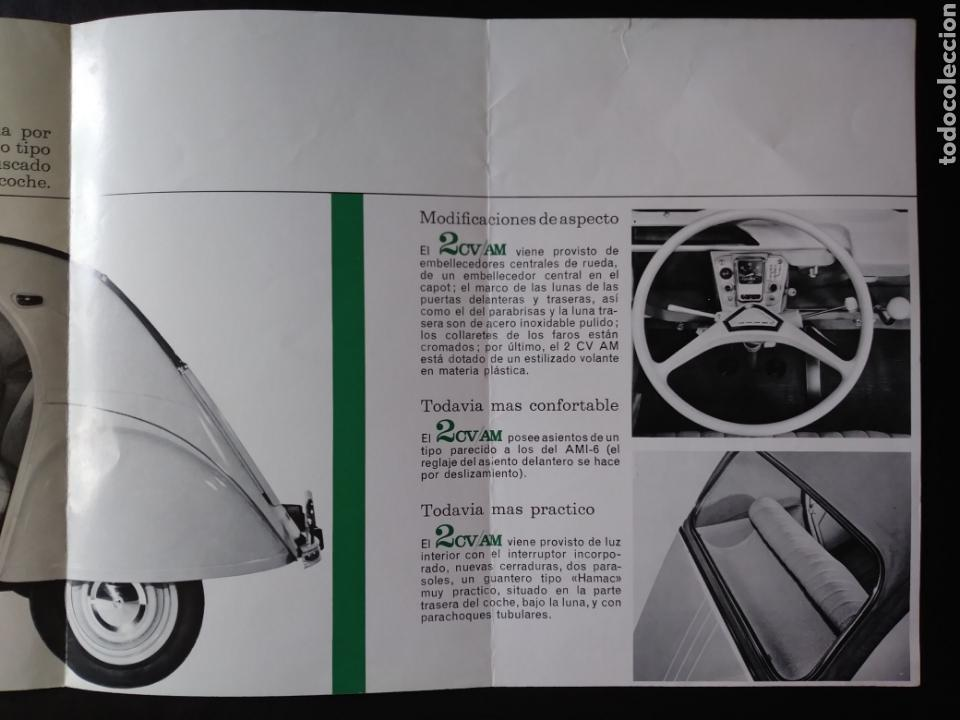 Coches y Motocicletas: Catálogo Citroën 2 CV AM 1963 2CV - Foto 3 - 124064771