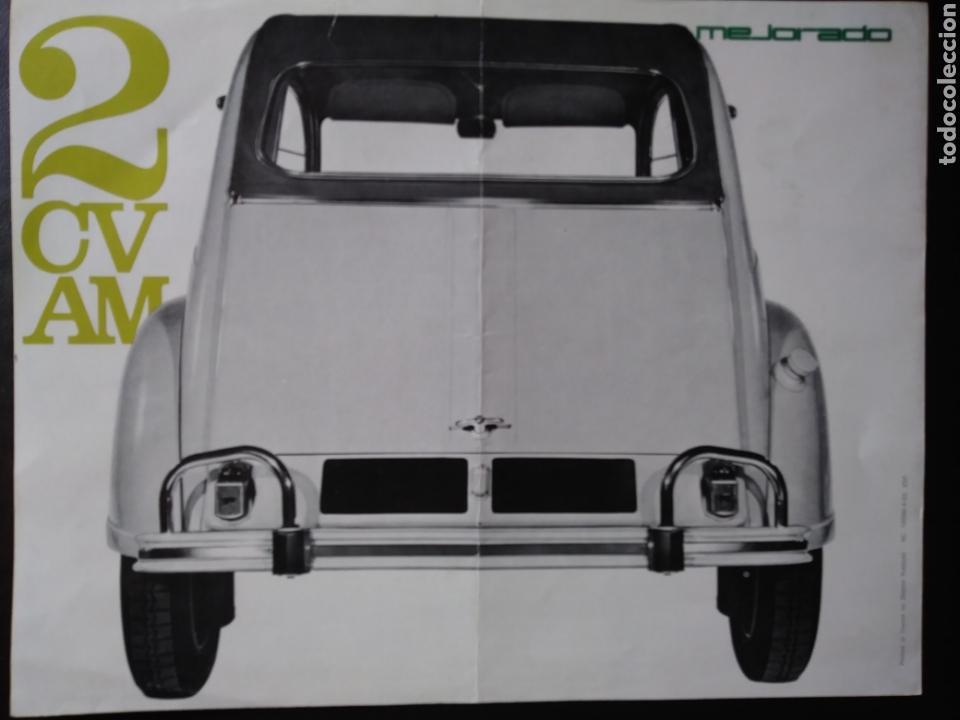 Coches y Motocicletas: Catálogo Citroën 2 CV AM 1963 2CV - Foto 4 - 124064771