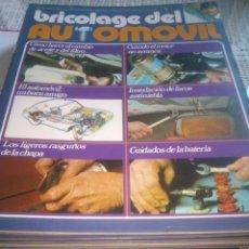 Coches y Motocicletas: 38 REVISTAS DE BRICOLAGE DEL AUTOMOVIL. Lote 124201443