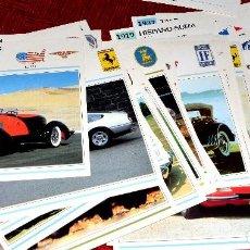Coches y Motocicletas: 60 FICHAS AUTOS DE COLECCIÓN PLANETA DE AGOSTINI 1992. Lote 124519887