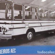 Coches y Motocicletas: FASCICULO BARREIROS AEC 1965 - ESCRITO EN FRANCES - AUTOBUS CAMION PEGASO . Lote 124666711