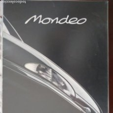 Coches y Motocicletas: CATÁLOGO FORD MONDEO. Lote 160230901