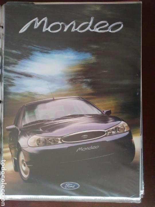 CATÁLOGO FORD MONDEO (Coches y Motocicletas Antiguas y Clásicas - Catálogos, Publicidad y Libros de mecánica)