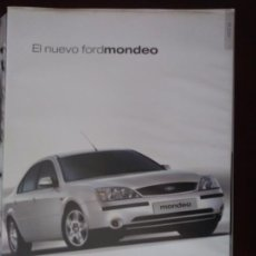 Coches y Motocicletas: CATÁLOGO FORD MONDEO. Lote 124794272