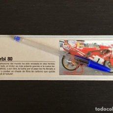 Coches y Motocicletas: DERBI 80 GP CARRERAS DUCADOS - RECORTE PRENSA REVISTA ANUNCIO PUBLICIDAD. Lote 125098355