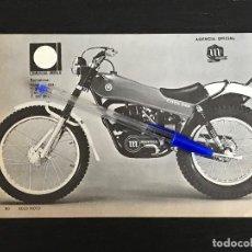 Coches y Motocicletas: MONTESA COTA 348 TRIAL COMERCIAL IMPALA BARCELONA - RECORTE PRENSA REVISTA ANUNCIO PUBLICIDAD. Lote 125099495