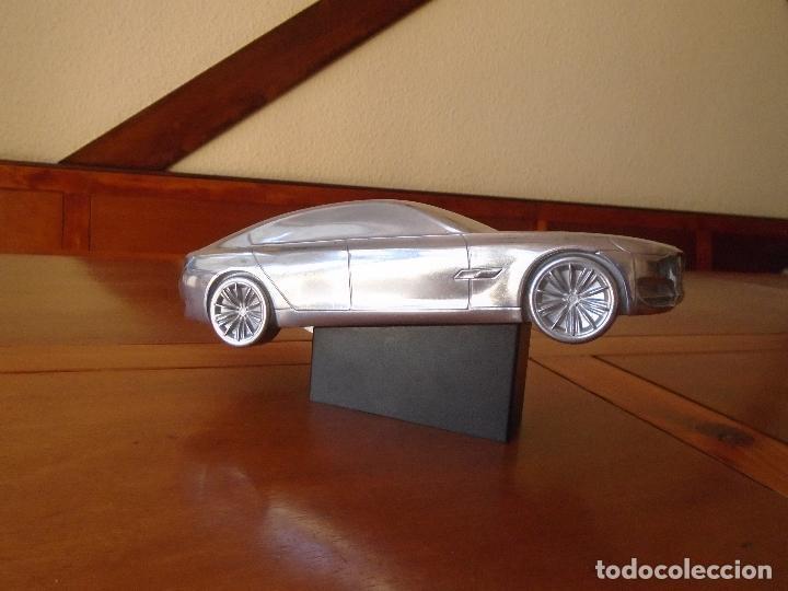 Coches y Motocicletas: PUBLICIDAD BMW. ESCULTURA EN ALUMNIO DE UN BMW. PRECIOSO OBJETO ARTÍSTICO CON FINES PUBLICITARIOS. - Foto 8 - 125304175