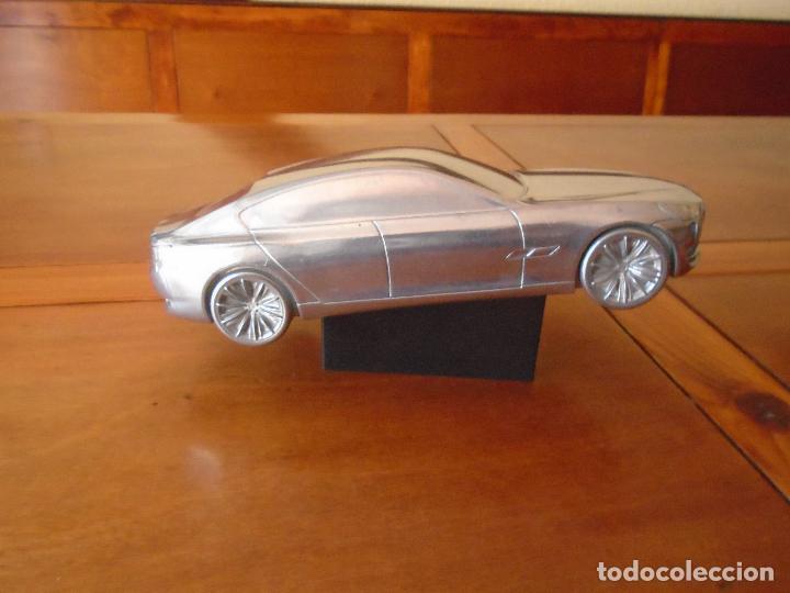 Coches y Motocicletas: PUBLICIDAD BMW. ESCULTURA EN ALUMNIO DE UN BMW. PRECIOSO OBJETO ARTÍSTICO CON FINES PUBLICITARIOS. - Foto 10 - 125304175