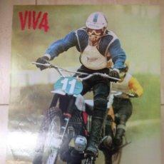 Coches y Motocicletas: CARTEL ORIGINAL VIVA MONTESA CAPPRA 250 VR 1972 MOTO CROSS KALEVI VEHKONEN . Lote 125834179