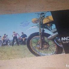 Coches y Motocicletas: TRIPTICO PUBLICITARIO DE MONTESA VARIOS MODELOS, . Lote 126016295